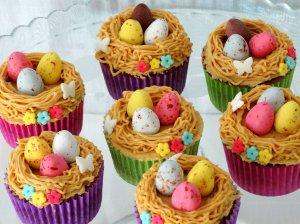 Cupcakes con buttercream de cacahuete