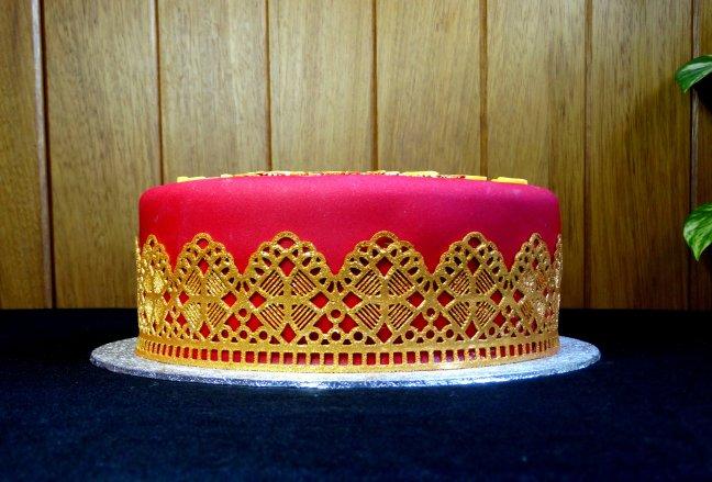 40 and fabulous cake