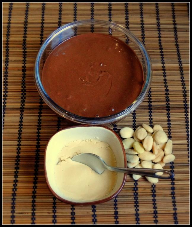 Mantequilla de almendras con chocolate (Paleo)